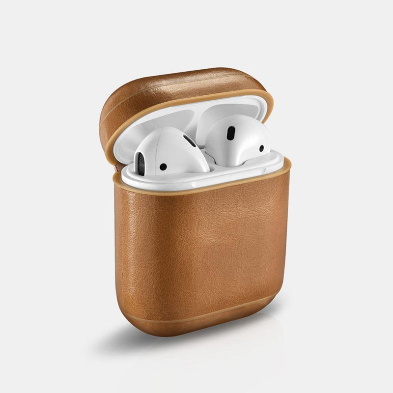 Airpods Leather Case with Keychain