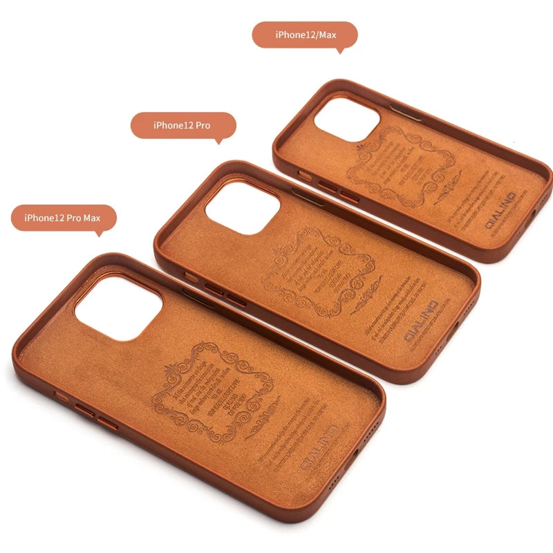Leather Case for iPhone 12 Series