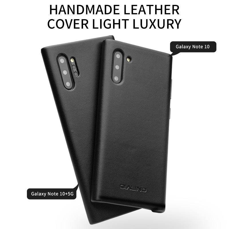 Leather Case for Galaxy Note 10 Series