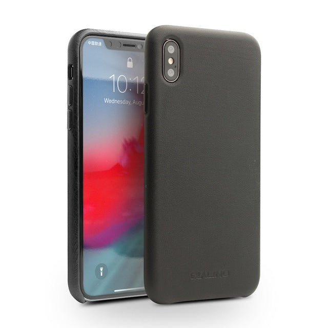 Leather Case for iPhone XS/XR