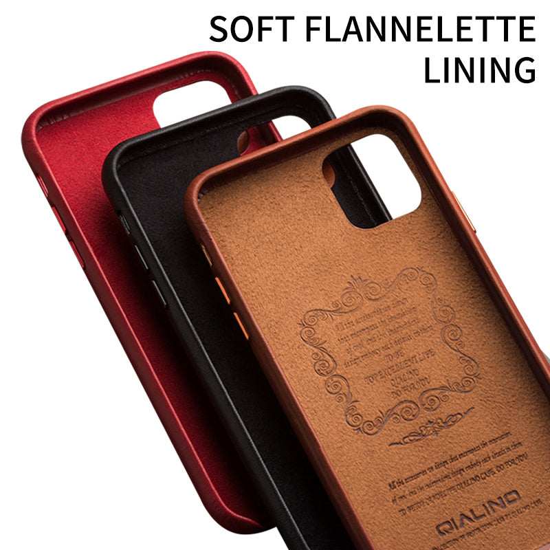 Leather Case for iPhone 11 Series