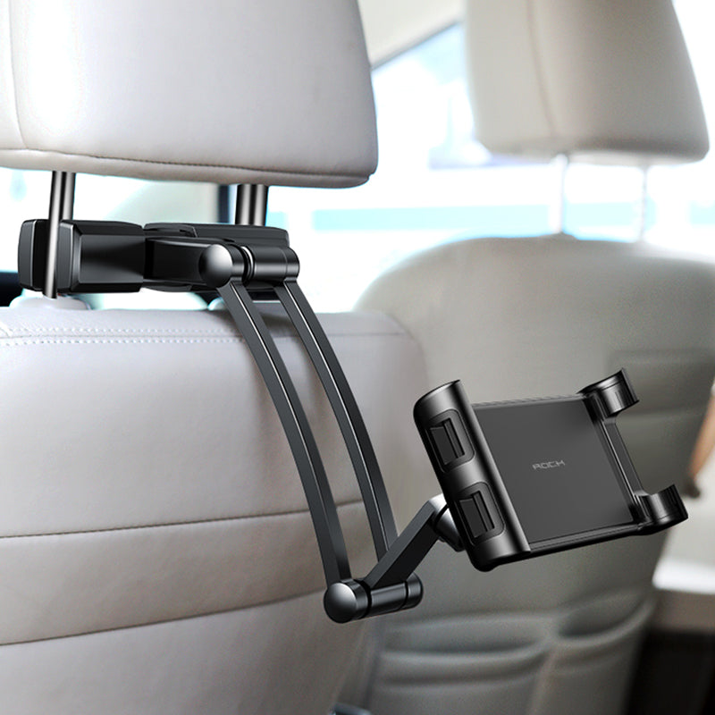 Car Headrest Mount Holder for iPad Tablet