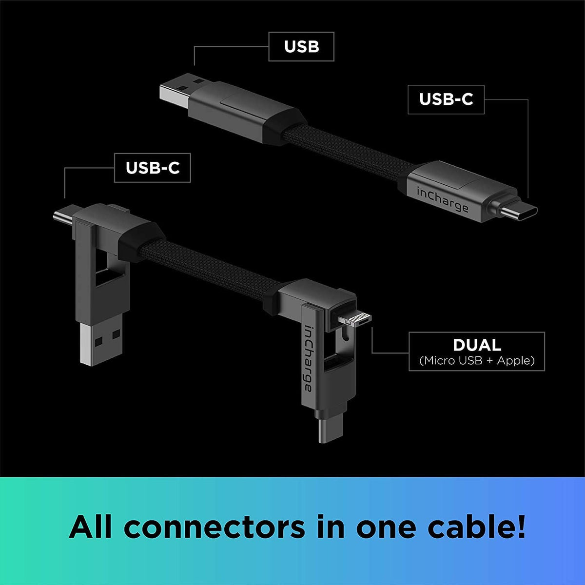 inCharge 6-in-1 Cables