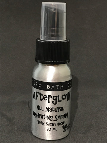 afterglow all natural face serum