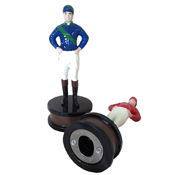 Foxhall Ltd  21 Club Jockey Bottle Opener