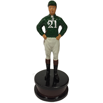 "Foxhall Ltd ""21"" Jockey in green"
