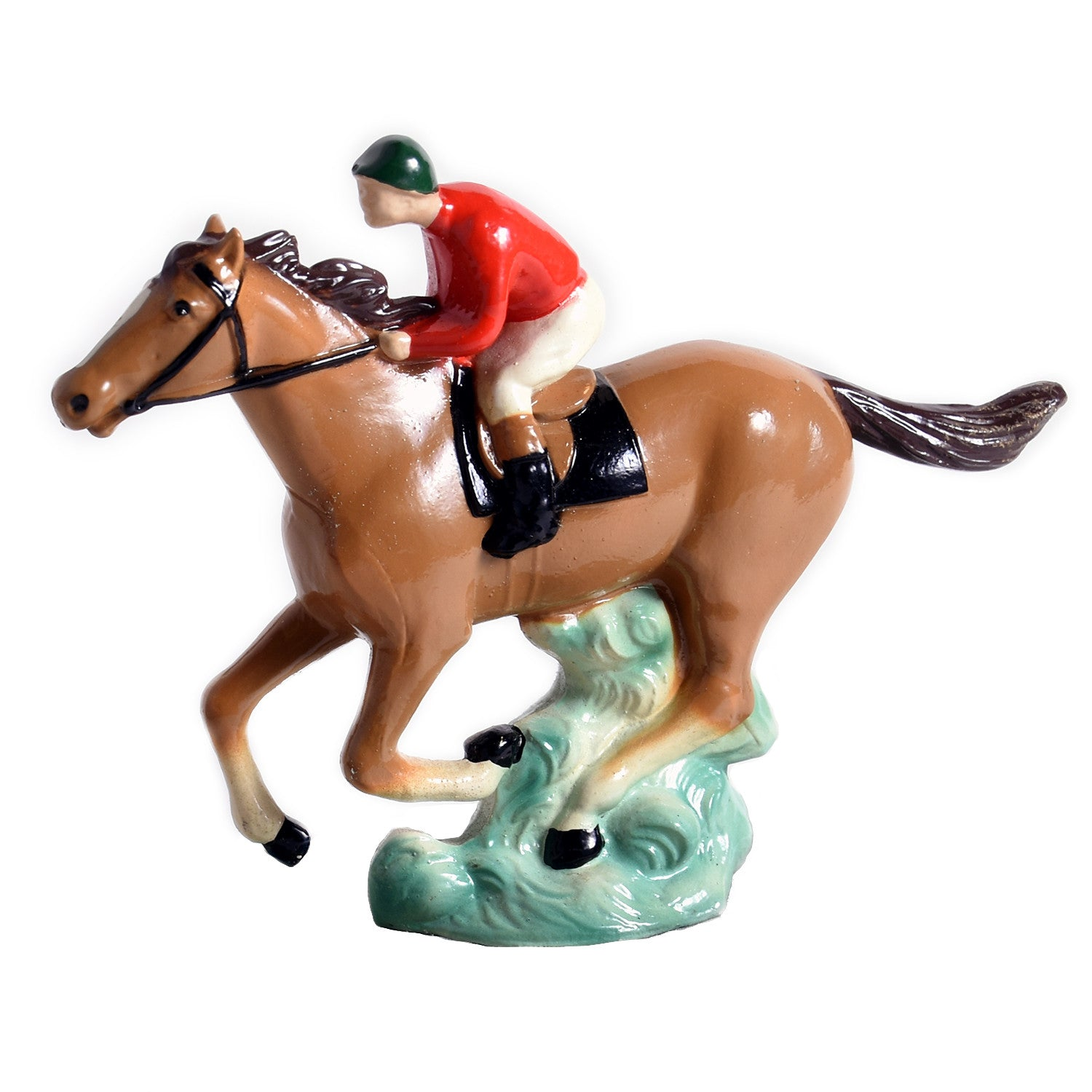 Galloping Racehorse Hood Ornament
