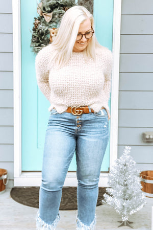 Winter Wonderland Sweater, Cream