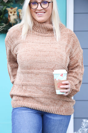 Cafe Mocha Sweater, Taupe