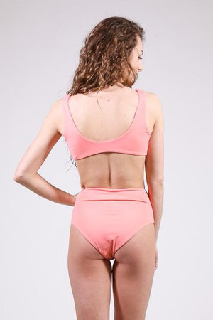 Knot Your Basic Swim Bottoms, Coral