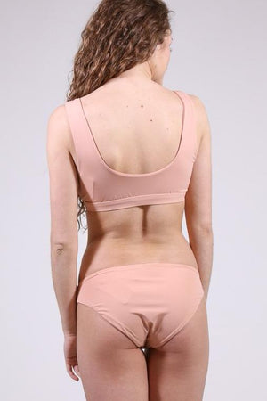 Can't Stop Blushing Swimsuit Bottoms, Blush