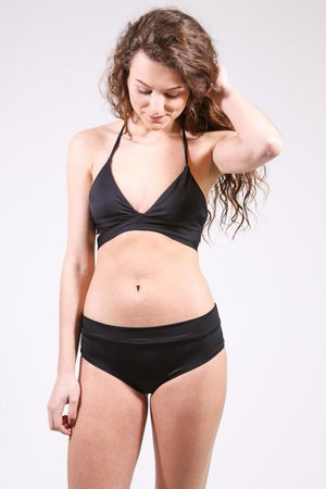 Bikini Bottoms Swimsuit, Black