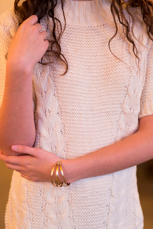 Sweater Dress, Ivory