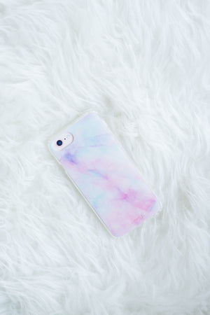 Pastel Marbled Phone Case