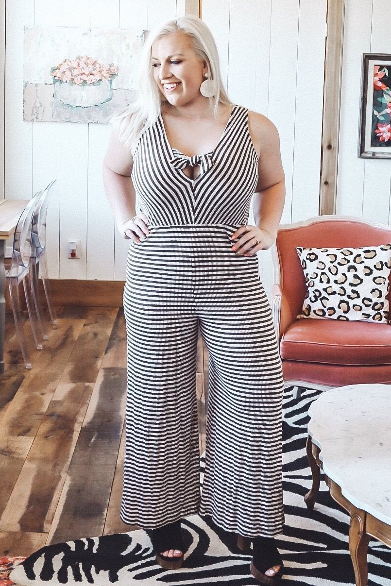Jump Around Jumpsuit, Mocha