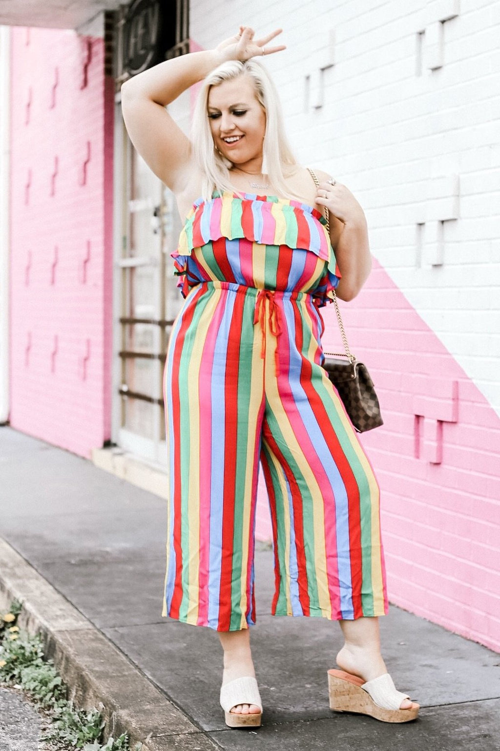 Here For The Colors Jumpsuit, Multi