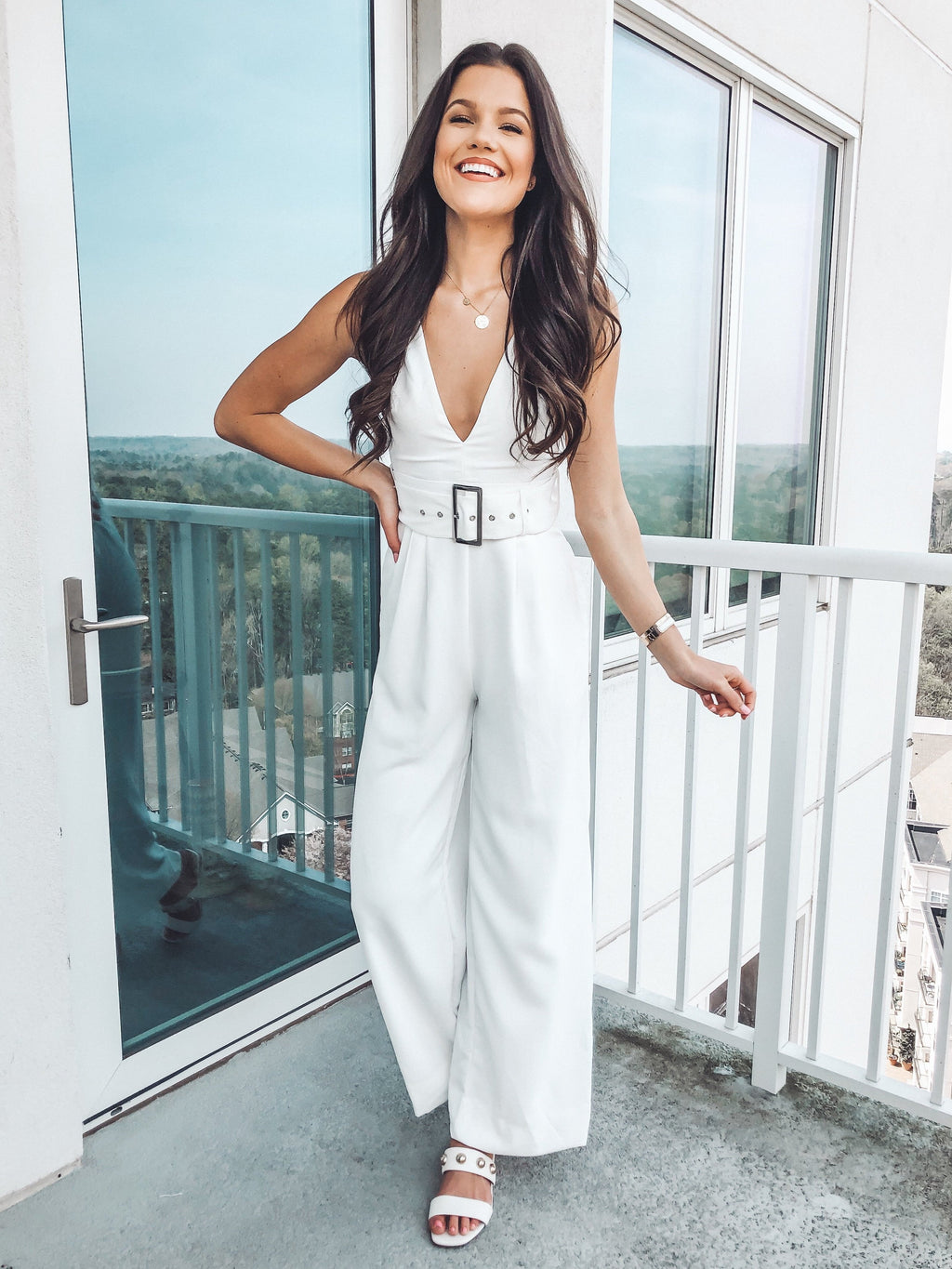 Made For You Jumpsuit, White