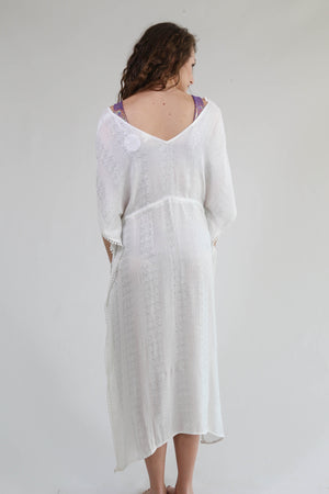 Covered In Love Dress, White