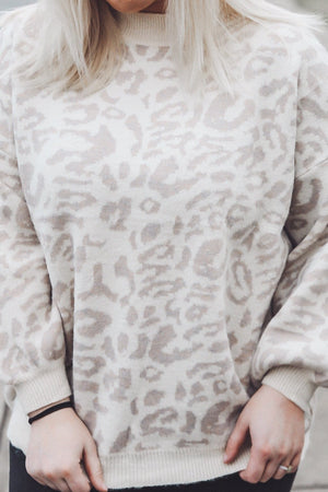 Not So Basic Sweater, Taupe
