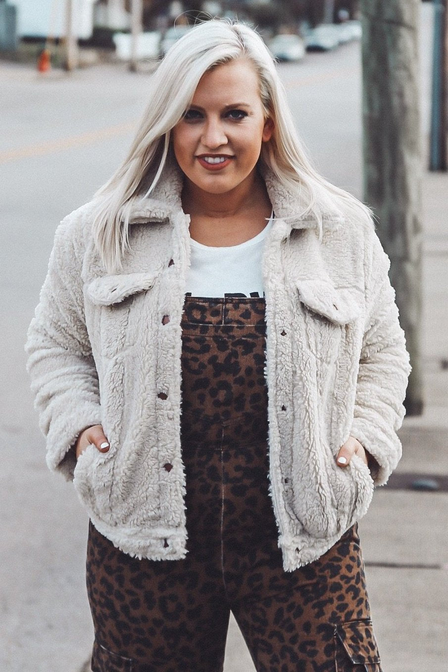 Bundled Up Jacket, Cream