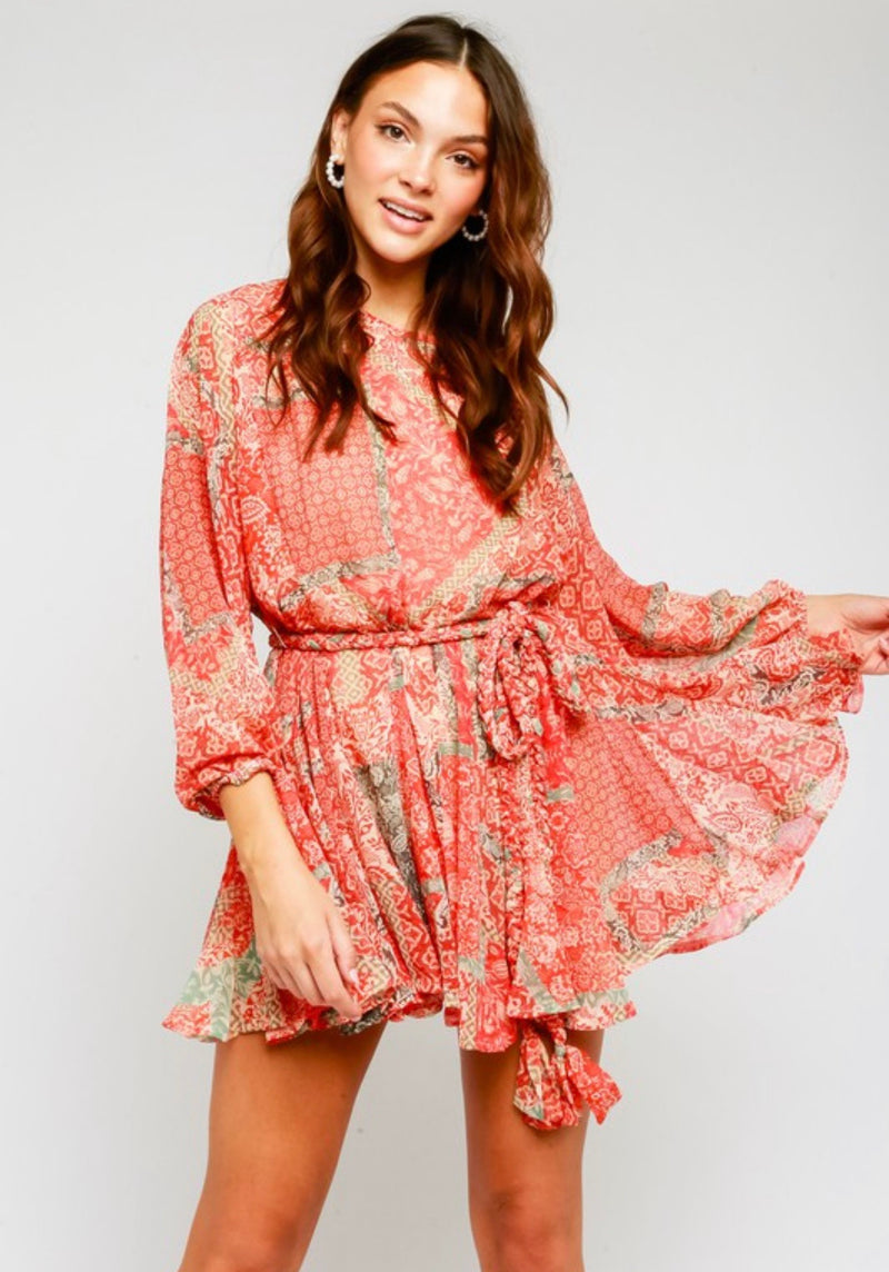 Multi Swing Dress