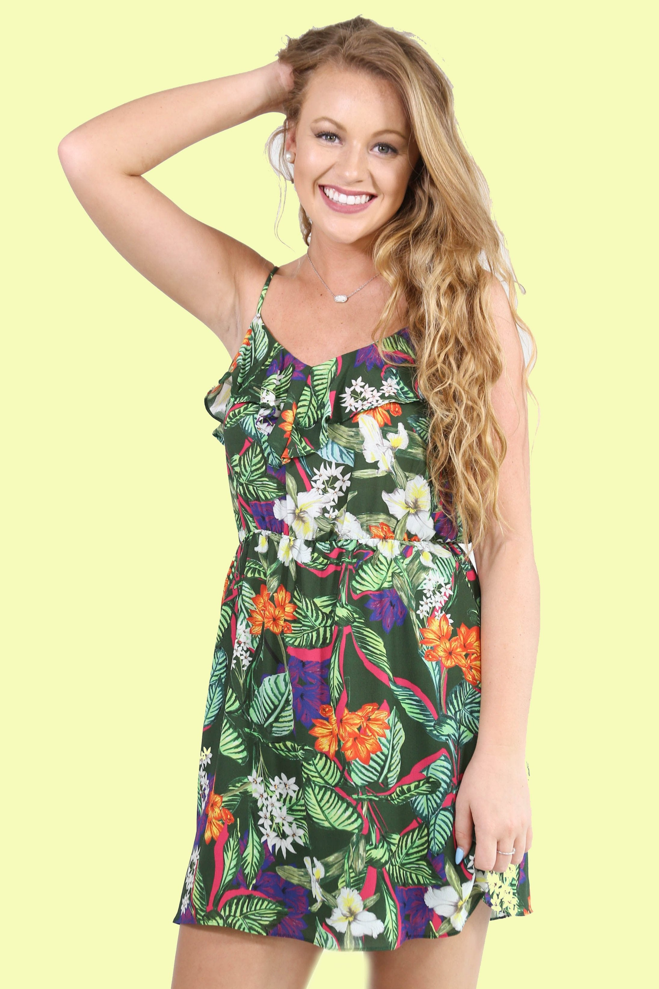 The Caribbean Dress, Tropical