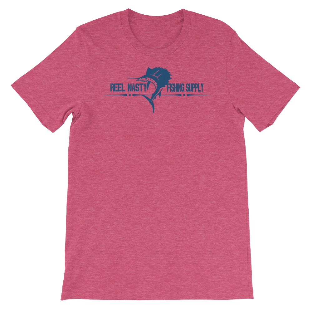 Fishing Shirts (21 different colors) REEL NASTY Free Sticker – Reel ...