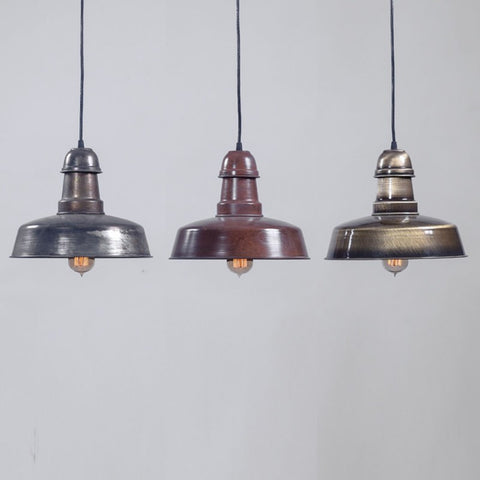 Indus Metal Plated Ceiling Lamp