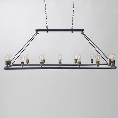 Atoll Rectangular Chandelier