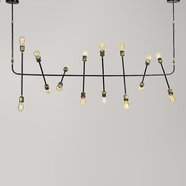 Atom Horizontal Chandelier