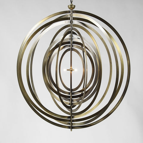 Eclips Metal Plated Chandelier
