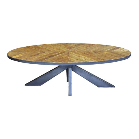 Sarah Elipse Dining Table