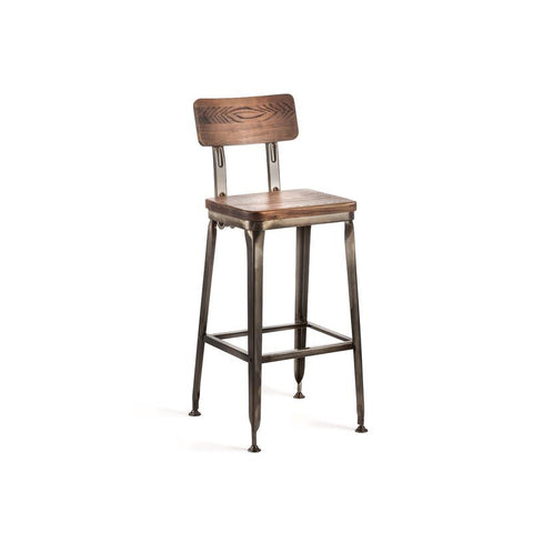 Toledo Industrial Bar Stool
