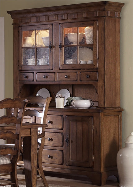 Treasures Dining Room Buffet And Hutch By Liberty