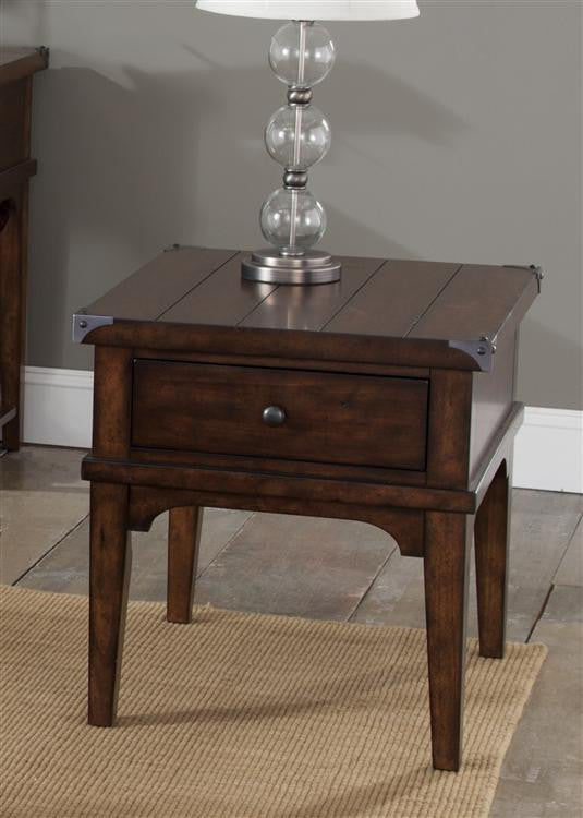 Aspen Skies Occasional End Table