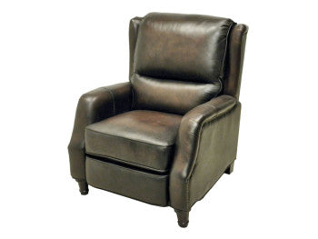 Lansing Moonlight Brown High Leg Recliner By Lacrosse