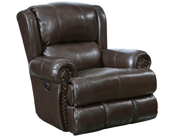 Catnapper Italian Leather Power Recliner