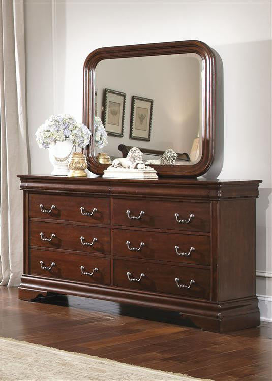 Carriage Court Dresser And Mirror