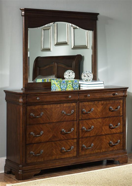 Alexandria  Dresser And Mirror