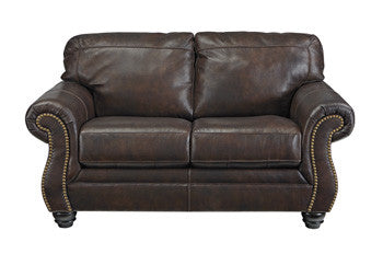 Bristan Leather Loveseat By Signature Design