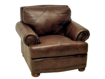 Tiburon Leather Chair Chair By LaCrosse