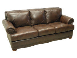Tiburon Leather Sofa By LaCrosse