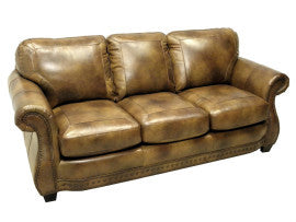 Apache Leather Sofa By LaCrosse