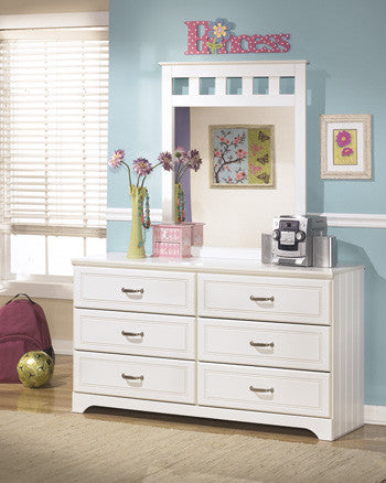 Lulu Dresser And Mirror By Signature Design