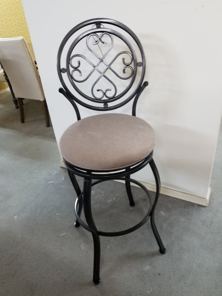 Bar Height Bar Stool With Swivel Seat