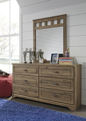 Brobern Dresser and Mirror By Signature Design