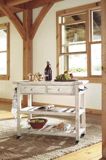 Kitchen Cart By Signature Design