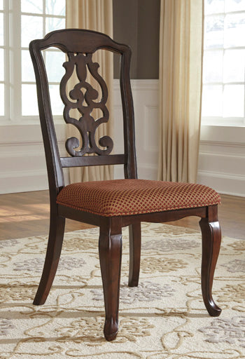 Gladdenville Queen  Anne Side Chair By Signature Design