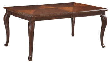 Gladdenville  Queen Anne Dining Table By Signature Design