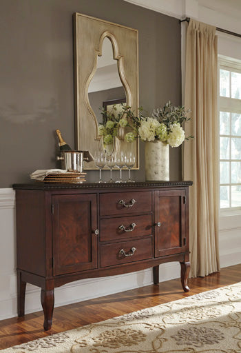 Gladdenville Queen Anne Server By Signature Design